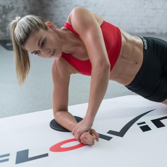 FLOWIN® Sport 摩擦訓練板 - 是一款可以捲曲的便攜式訓練板,適合在室內和戶外旅行時使用