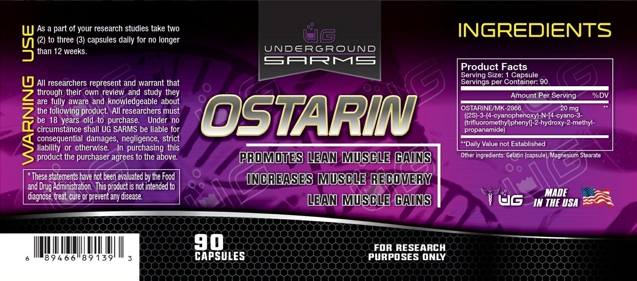 UG SARMS - OSTARIN
