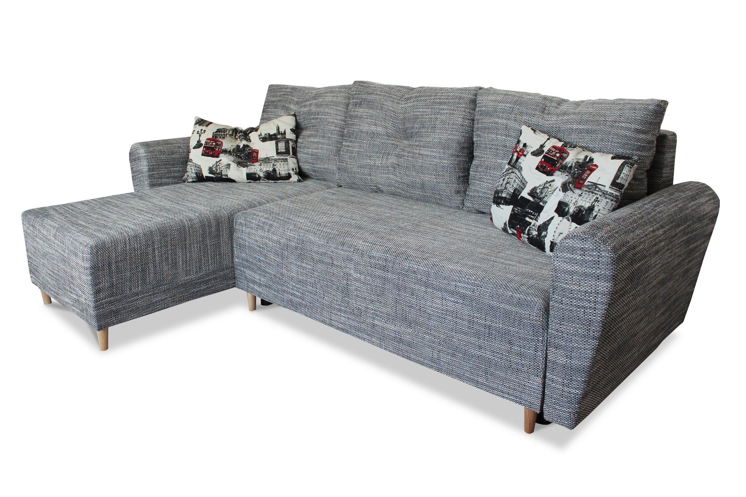 Corner Sofa Bed with Legs