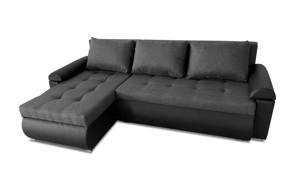 Beautiful Sofa Bed - Black Corner Sofa Bed