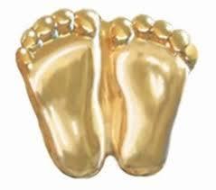 Gold Precious Feet