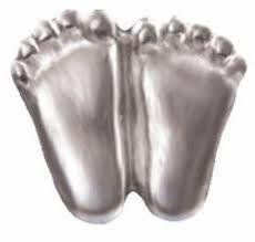 Silver Precious Feet