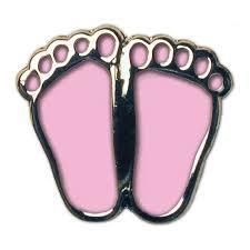 Pink Precious Feet