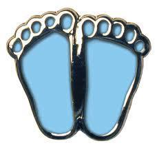 Blue Precious Feet