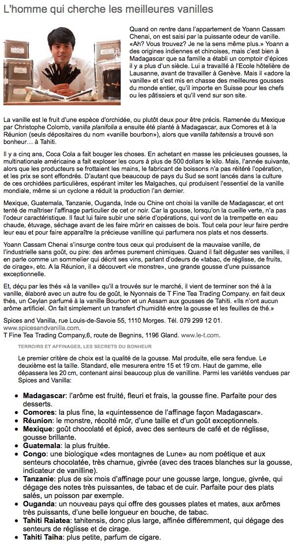 Article 24 heures 2009