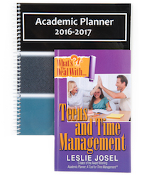Bundle: Academic Planner (Personal Size) + Time Management Book