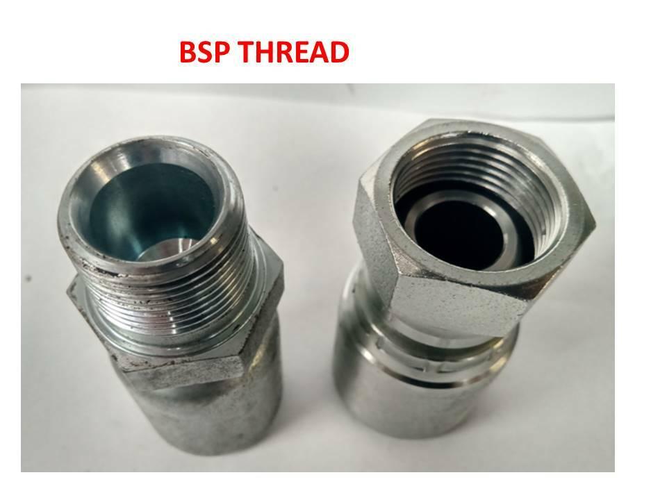 Flowfit Hydraulic BSP Male x BSPT Male