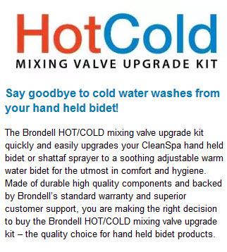bidet mixing valve
