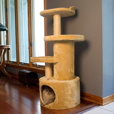 Groupon cat tree tower condo
