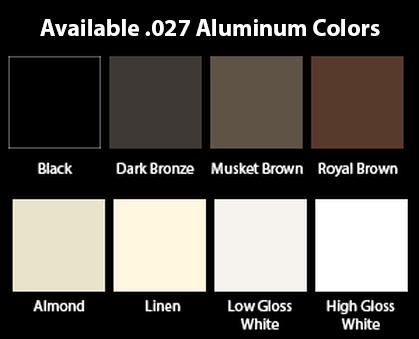Aluminum Plain Round Downspout