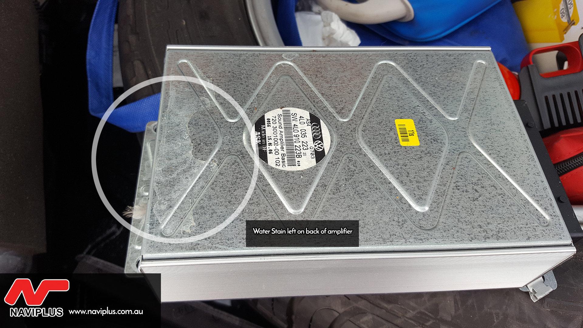Audi 3G MMi Fiber Optic / BOSE Amplifier Repair / Replacement OEM service