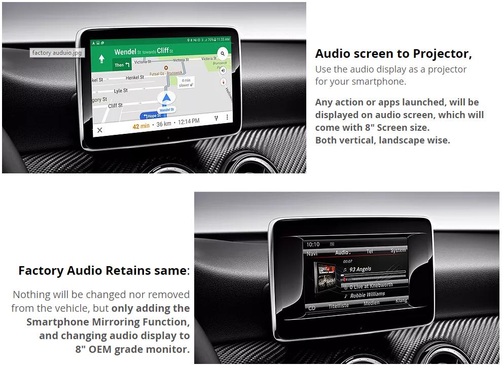 Mercedes Benz NTG 4 5 / 4 7 / Audio20 / COMAND 8