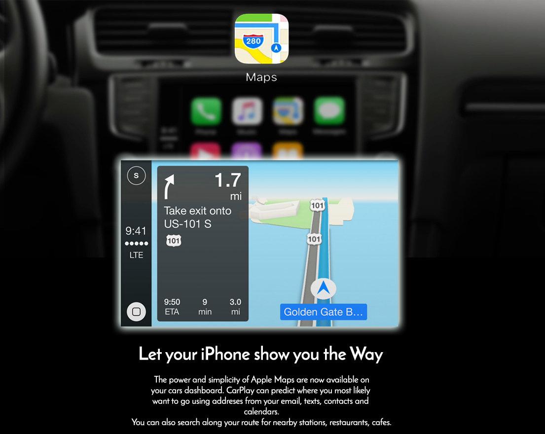 Apple CarPlay to suit Audi A3 8V 3G MMi Plus - Factory Audio