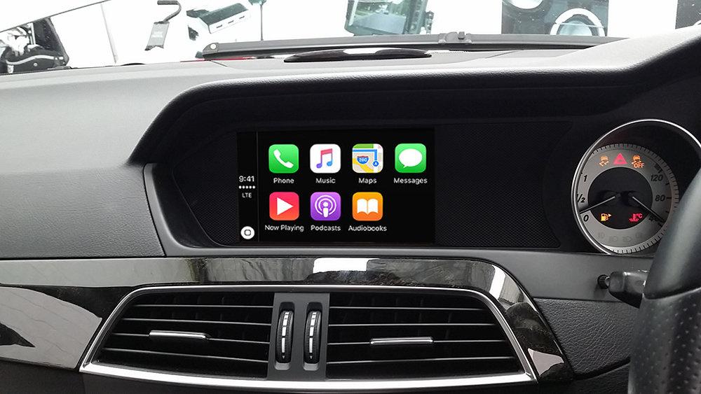 Details about Mercedes Benz W204 C-Class Audio 20 / COMAND Apple CarPlay  Integration