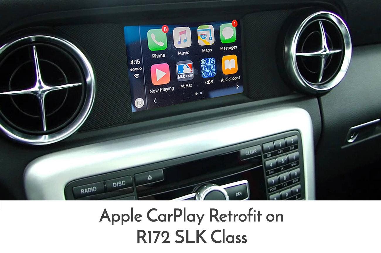 Details about Mercedes Benz R172 SLK-Class 2012-2015 Apple CarPlay  Integration upgrade