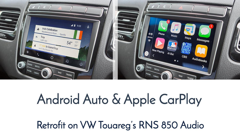 volkswagen touareg 7p apple carplay android auto. Black Bedroom Furniture Sets. Home Design Ideas