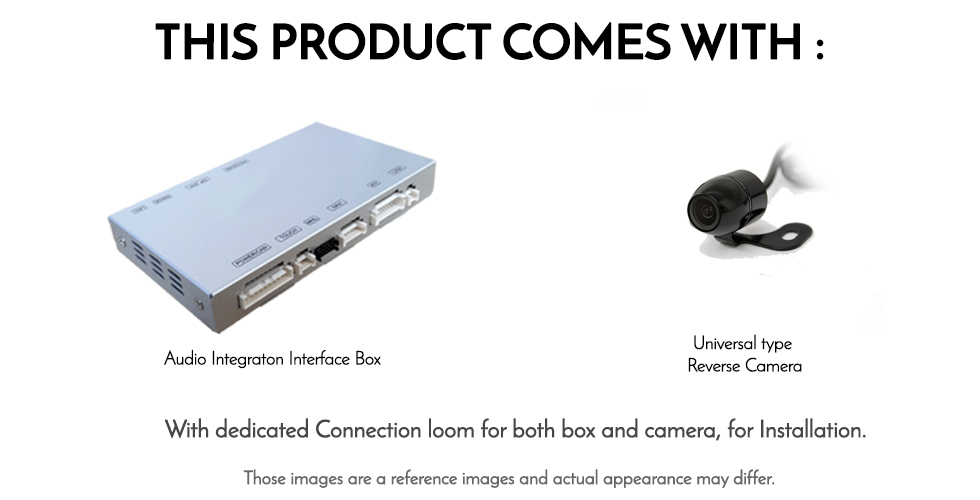 Mercedes Benz Sprinter VS90 Chassis MBUX audio Integrated Reversing Camera  Kit
