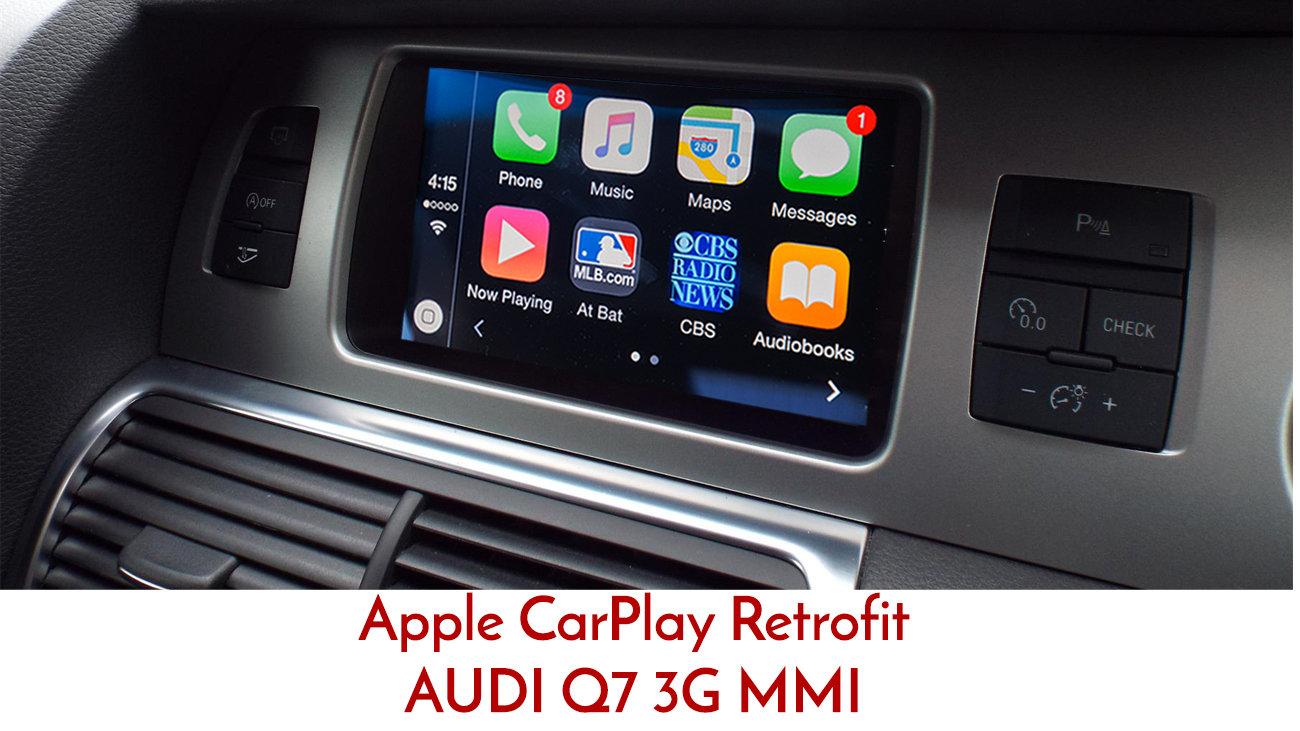 Apple CarPlay to suit Audi Q7 3G MMi 2009 - 2014 | Street