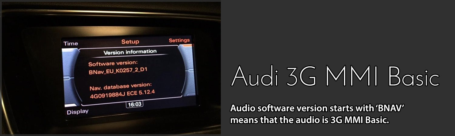 apple carplay for audi a4 a5 and q5 for 3g basic mmi. Black Bedroom Furniture Sets. Home Design Ideas