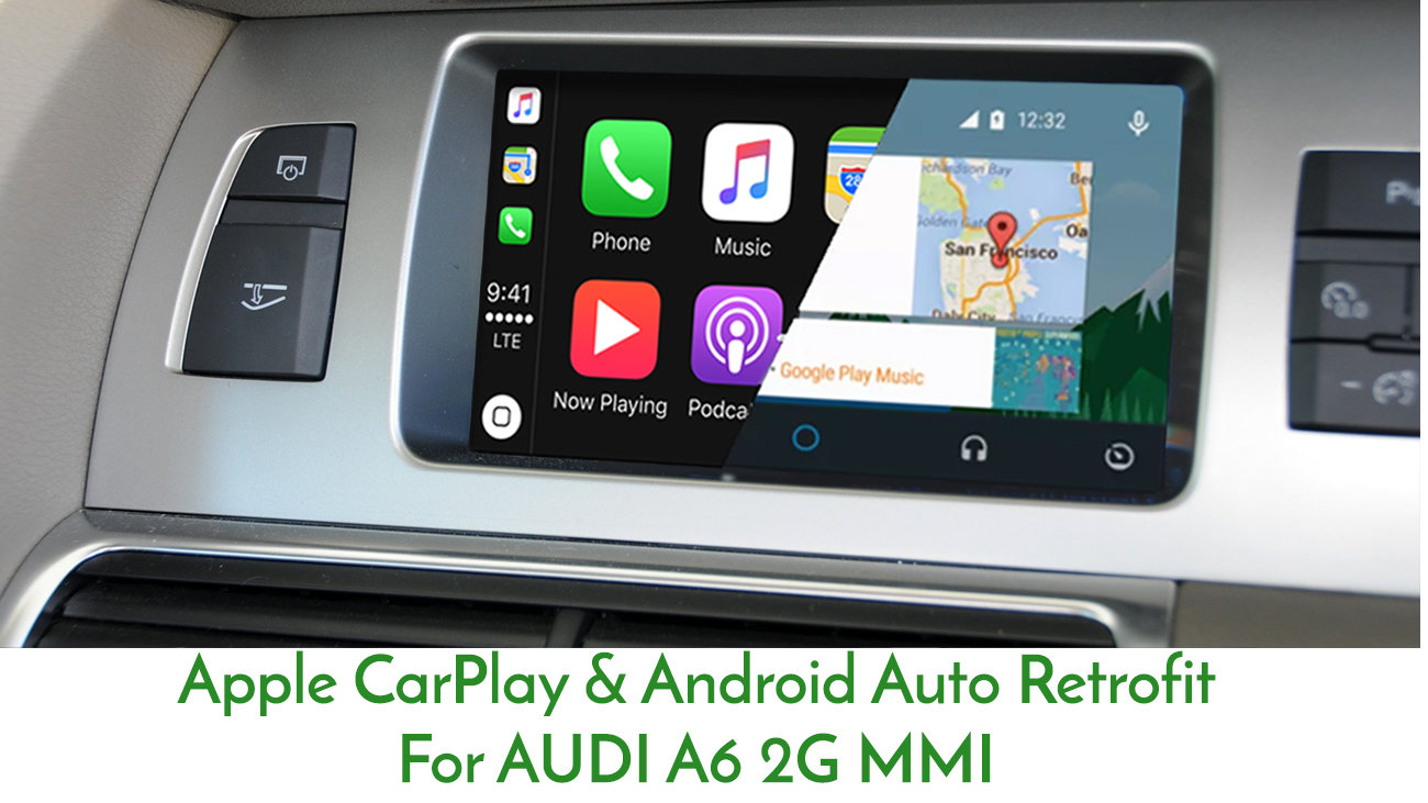 Details about AUDI A6 C6 2004 - 2008 2G MMi Integrated Apple CarPlay  Android Auto Install
