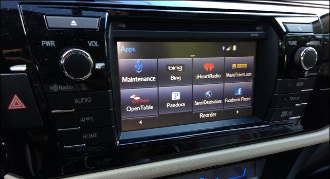 2014 - 2015 Toyota Corolla ZR APPS Audio - Factory Audio Integrated GPS  Navigation Retrofit Upgrade Kit