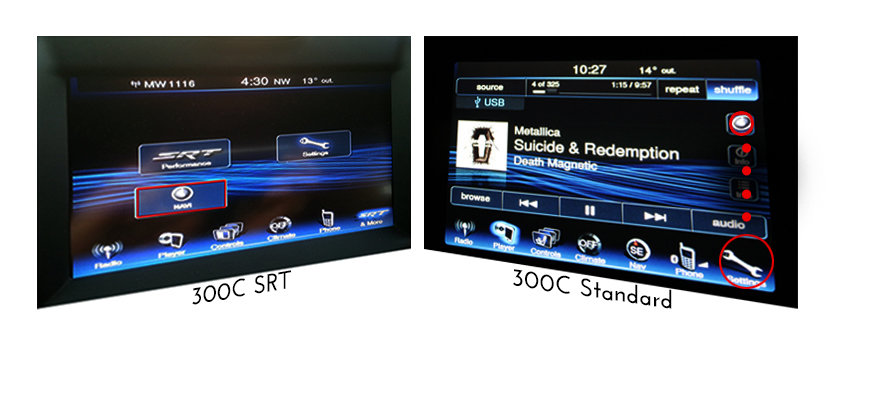 Chrysler 300c Uconnect 8 4 Add On Type Latest Gps