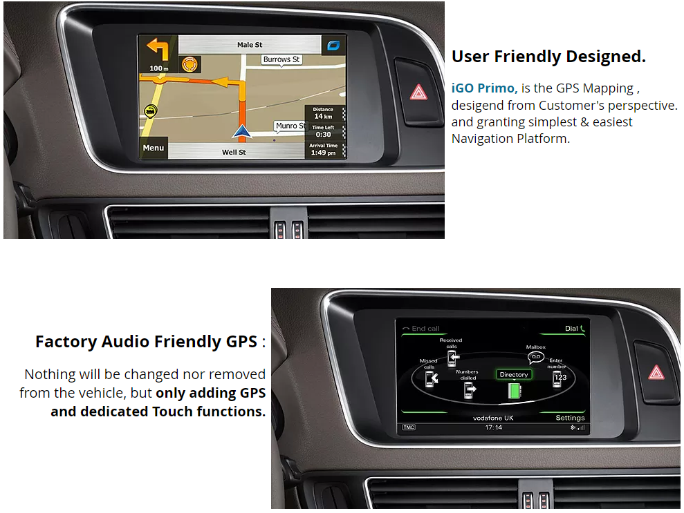 audi a4 b8 gps navigation map upgrade sat nav. Black Bedroom Furniture Sets. Home Design Ideas