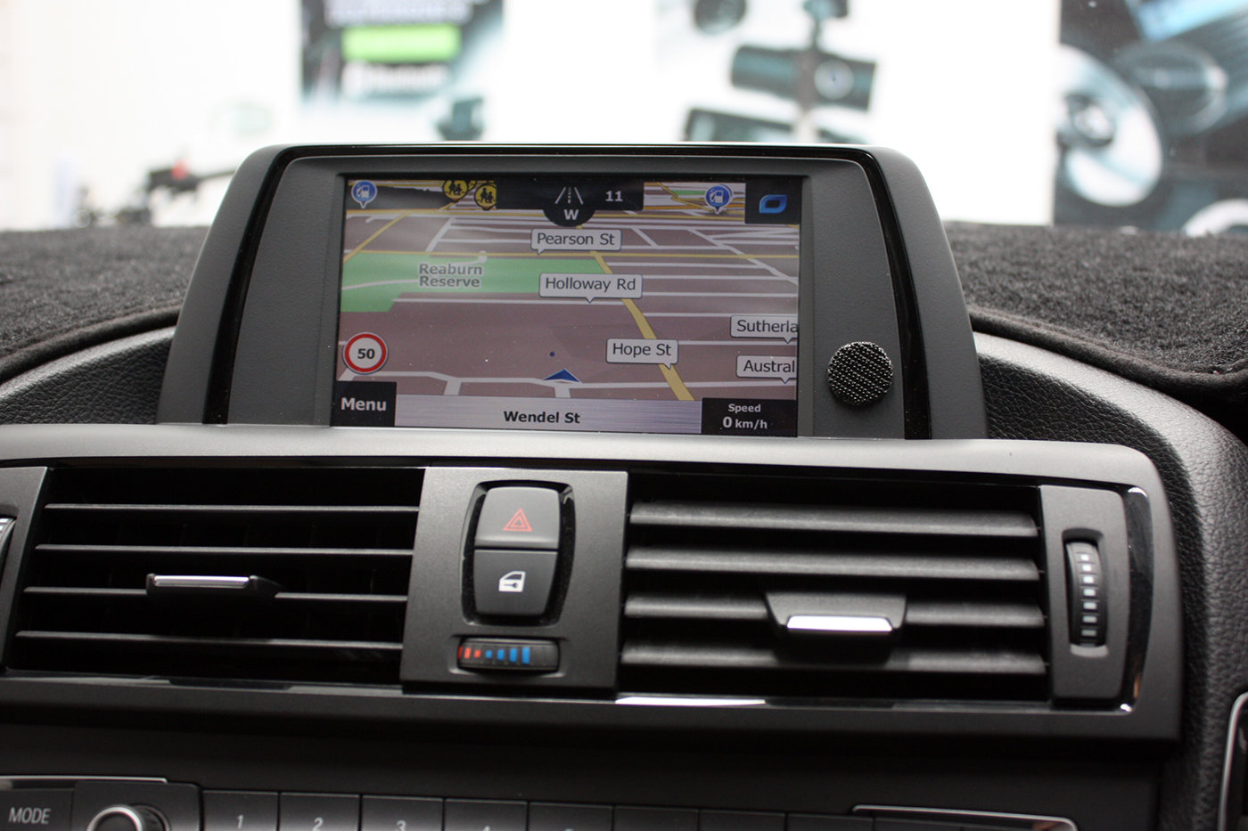 [2012 - Current] BMW F20 1 Series iDrive Add-on Touch GPS Navigation  Upgrade system