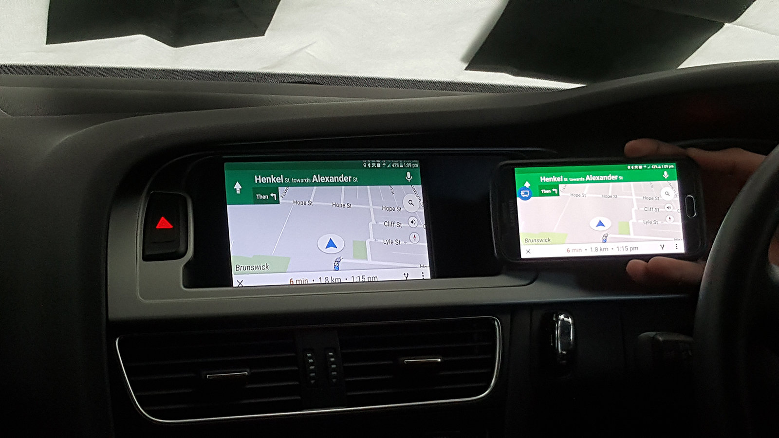 audi 3g mmi hd android mirrorlink apple airplay iphone map apple map install kit ebay. Black Bedroom Furniture Sets. Home Design Ideas