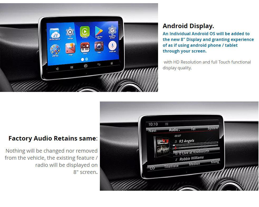 [NTG 4 7 / Audio20 / COMAND] Mercedes Benz 8