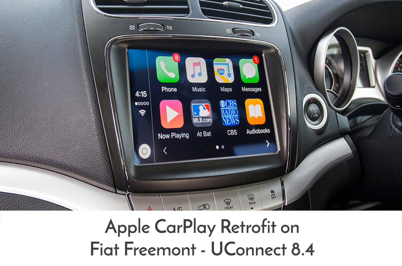 Fiat Freemont 2012 Onward Uconnect 8 4 Quot Integrated Apple