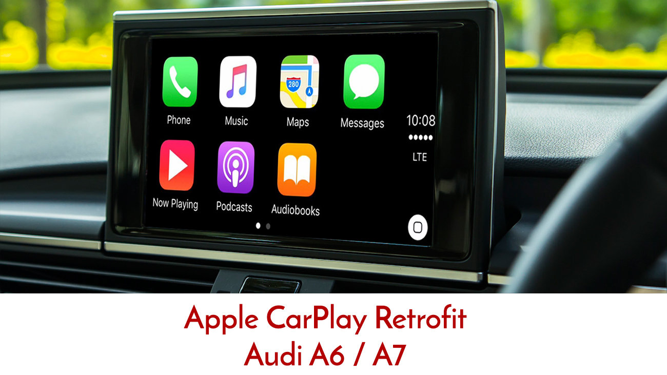 Apple CarPlay to suit Audi A6 C7 Series 2012 to 2017 3G MMi | Street