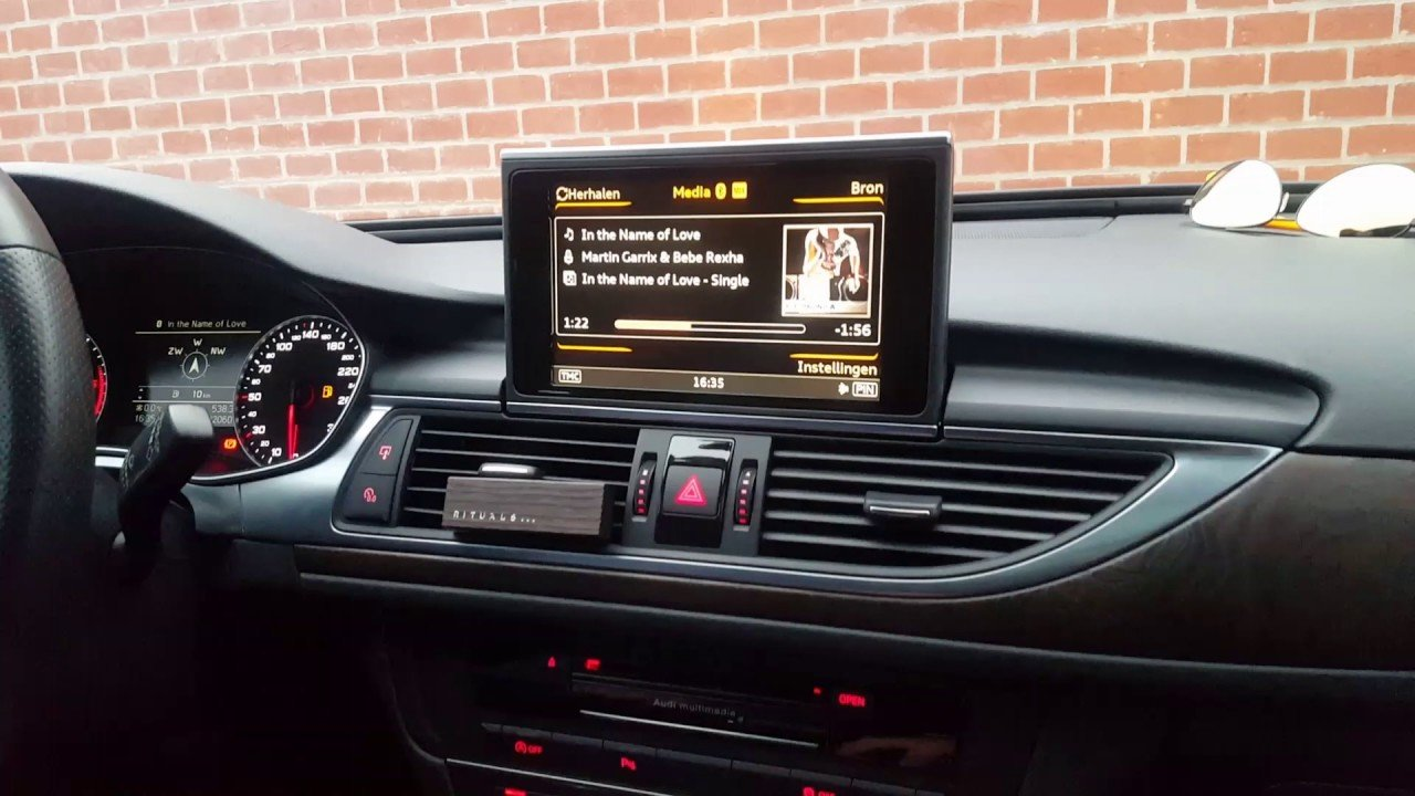 audi a7 2012 current 3g mmi plus audio integrated touch. Black Bedroom Furniture Sets. Home Design Ideas