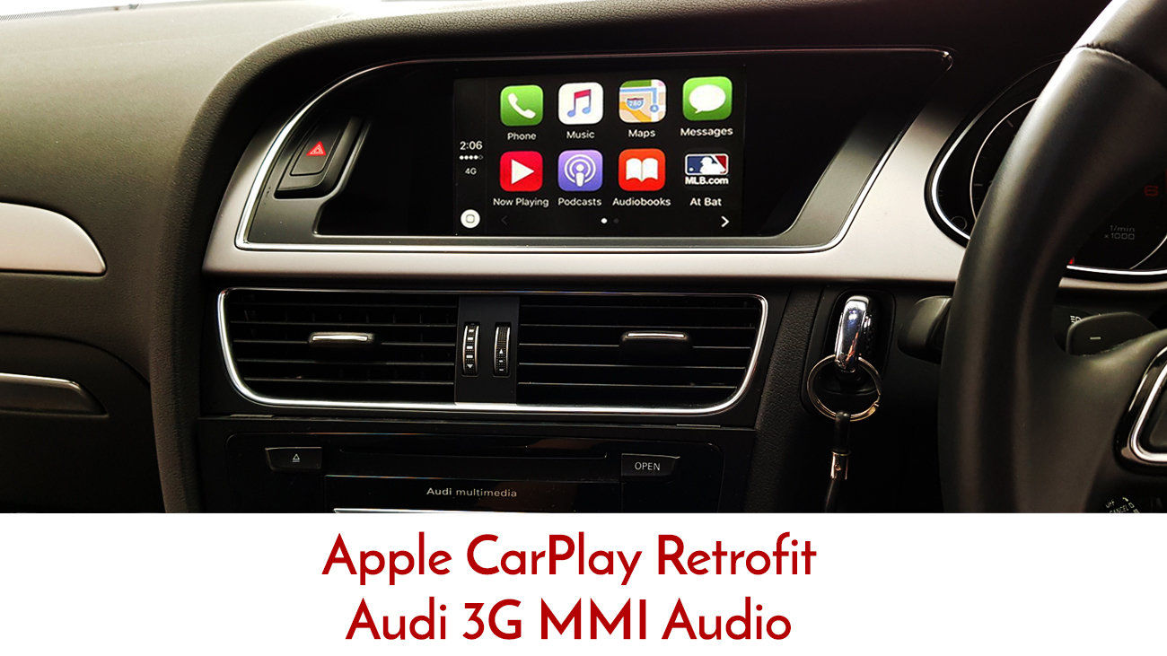 Apple CarPlay For Audi A A And Q For G Basic MMi Integration - Audi car play