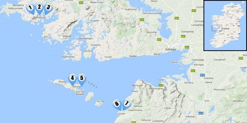 The Burren, Aran Island & Connemara 8 Day Hike/With Guid