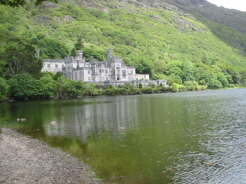 Kylemore Abbey. Ireland
