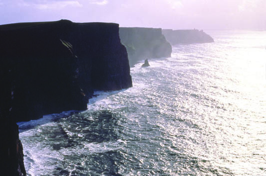 Co. Clare. The Cliffs of Moher
