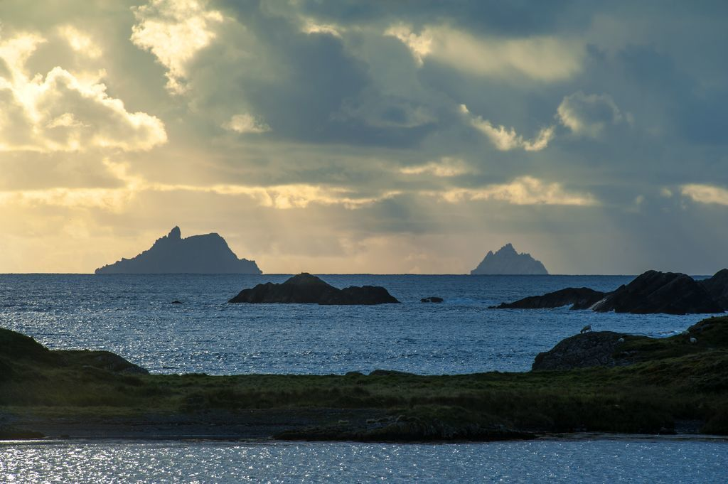 Skellig Rock off the coast of Kerry