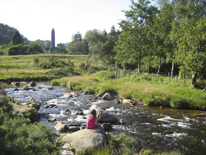 Glendalough, Co. Wicklow. Ireland