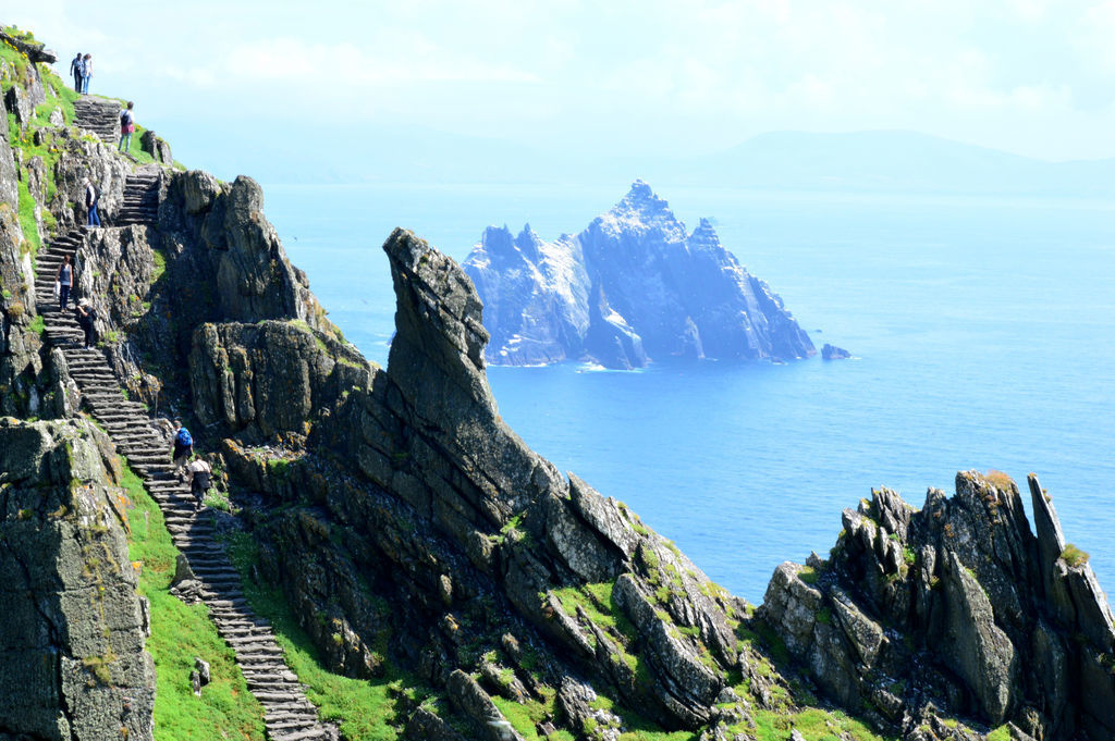 Skellig Michael. Off the Kerry Coast