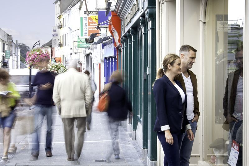 Window Shopping in Ireland