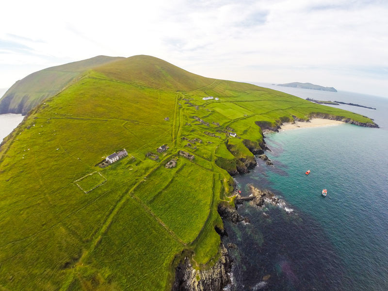 The Great Blasket Island.