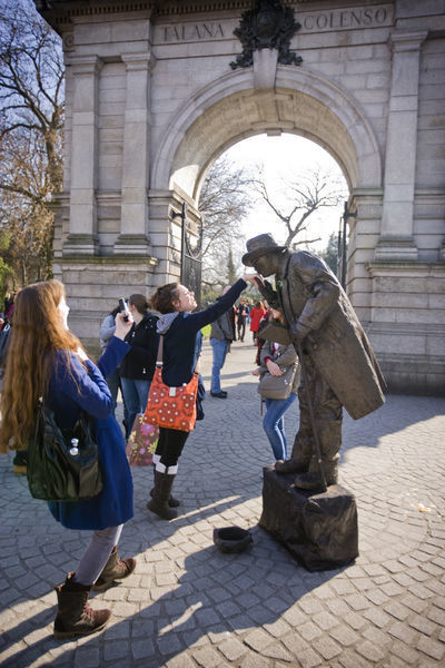 Stephens Green. Dublin