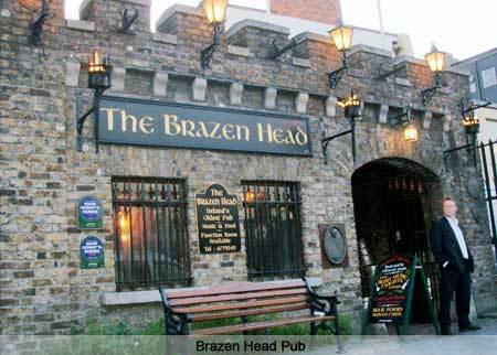 The Brazen Head.Dublin. Ireland.Built 1169AD