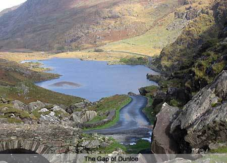 The Gap of Dunloe. Co Kerry. Ireland