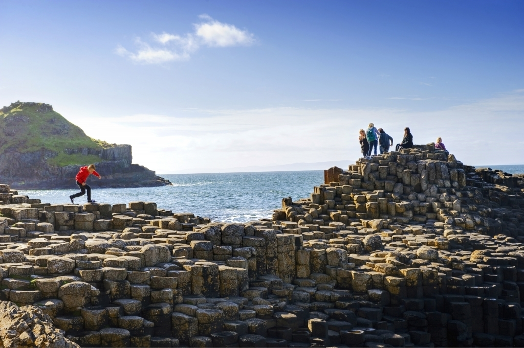 Giants Causeway. Northern Ireland