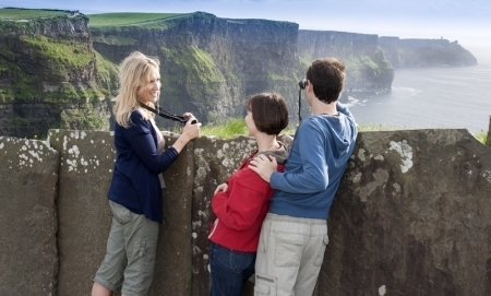 The Cliffs of Moher. Co. Clare. Ireland