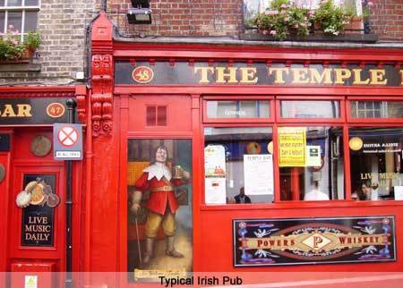The Temple Bar Pub. Dublin. Ireland