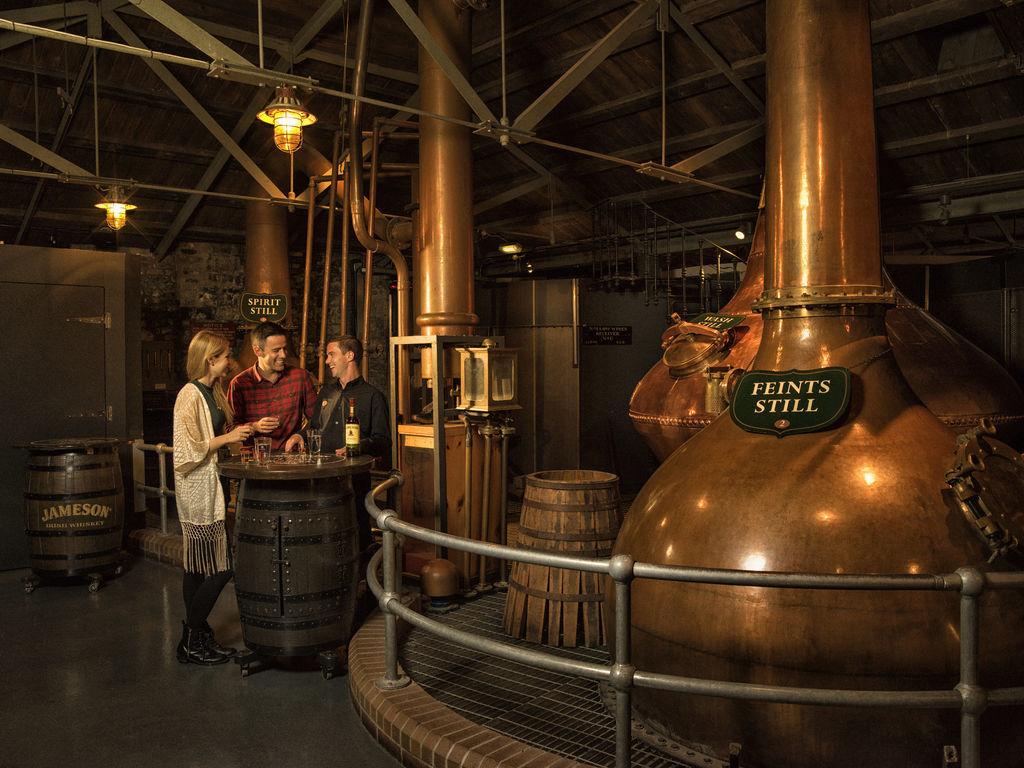 Tullamore Dew Distillery. Ireland