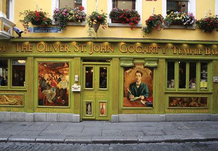 Oliver St John Gogarty's Pub, Temple Bar. Dublin Ireland